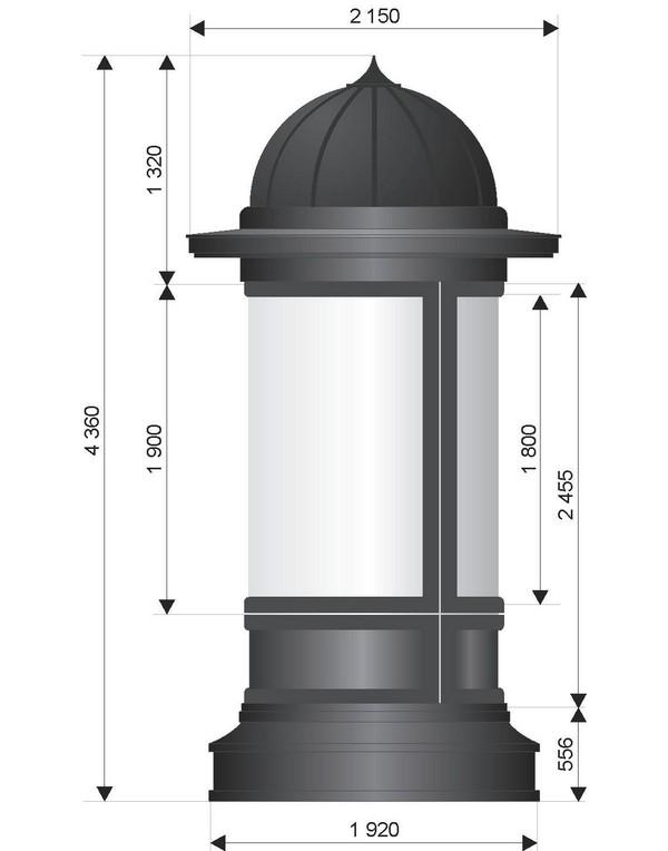 Тумба для объявлений своими руками 1177
